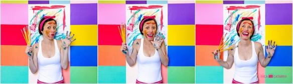 """""""A vida tem a cor que você pinta Pinte com dedo, lápis, pincel Deixe sua marca, mostre sua cor A vida tem uma paleta enorme Alguma cor há de agradar Escolha, faça suas opções, o artista é você Decida o tom e o brilho, escolha sombra ou sol A decisão é sua, o que você puser, será Faça o seu melhor Coloque cor na sua vida..."""" (Autor Desconhecido)"""
