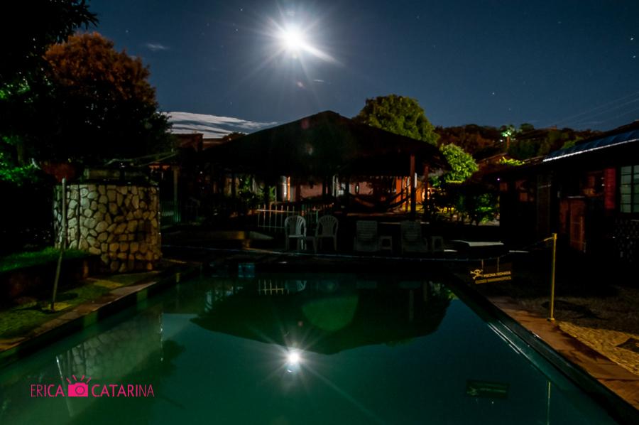 Bonito Hi Hostel - Vista noturna. Fotografia: Érica Catarina Pontes - Março/2014