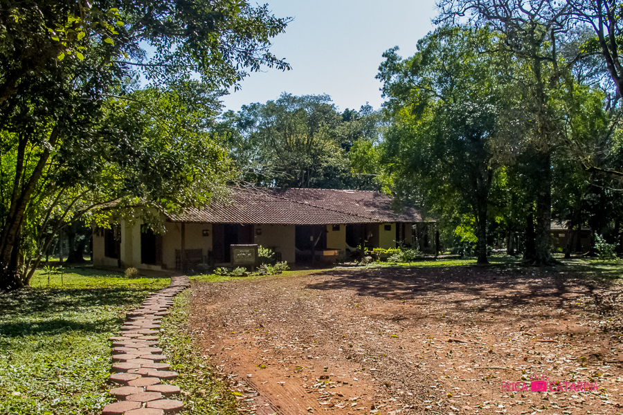 Recepção do Iguassu Eco Hostel