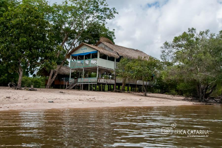Chegando na Comunidade Ribeirinha do Jamaraquá
